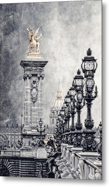Paris Pompous 2 Metal Print