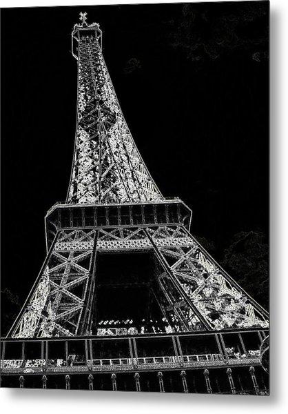 Paris  Metal Print by Rhonda McDougall