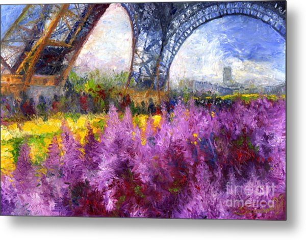 Paris Tour Eiffel 01 Metal Print
