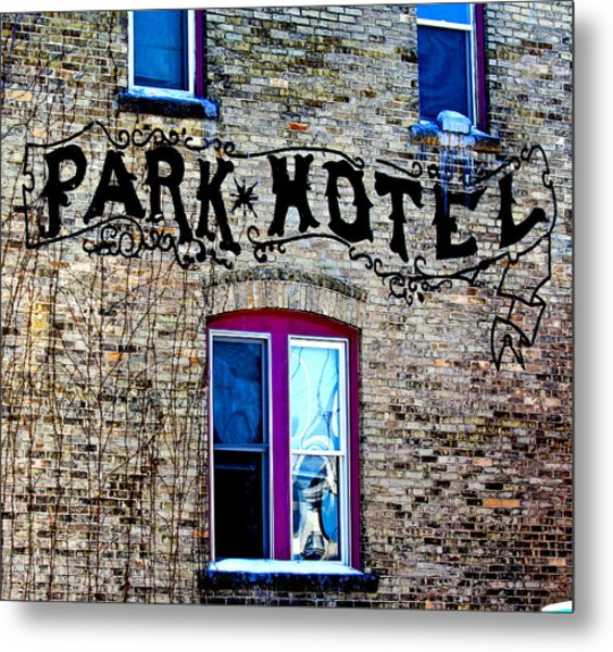 Park Hotel Metal Print