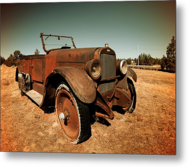 Parked 4 Metal Print by Leland D Howard