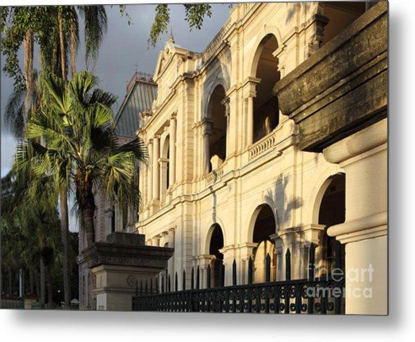 Parlament House In Brisbane Australia Metal Print