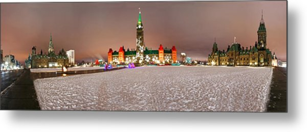 Parliament Hill Metal Print