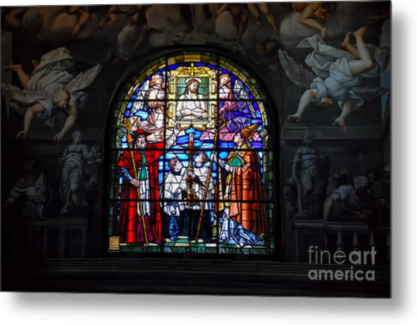 Parma West Window Metal Print