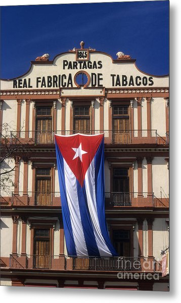 Partagas Cigar Factory Metal Print