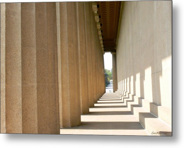 Parthenon1 Nashville Tn Metal Print