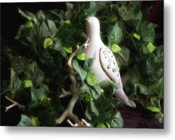 Partridge In The Ivy Metal Print