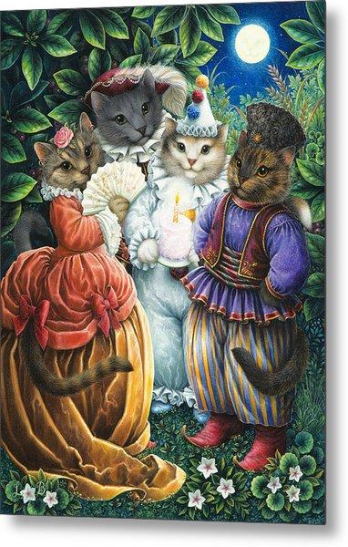 Party Cats Metal Print