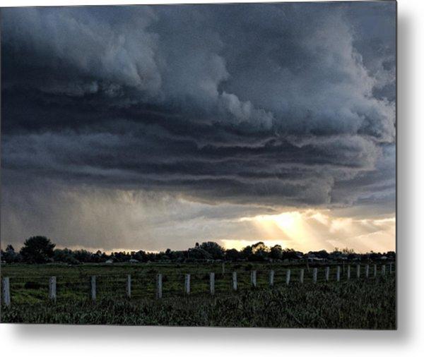 Passing Storm Metal Print by Heather Provan
