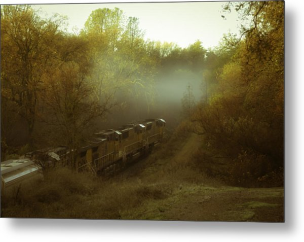 Passing Through Auburn Metal Print