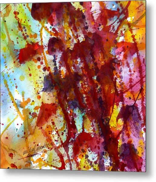 Passion Rising Metal Print