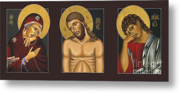 Passion Triptych Metal Print