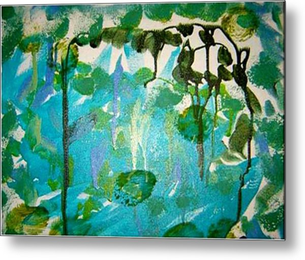 Passion Vine Metal Print