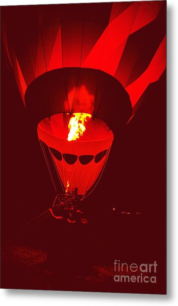 Passion's Flame Metal Print