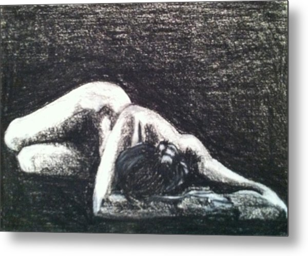 Pastel Inspired By Ruth Bernhard's Perspective II Metal Print