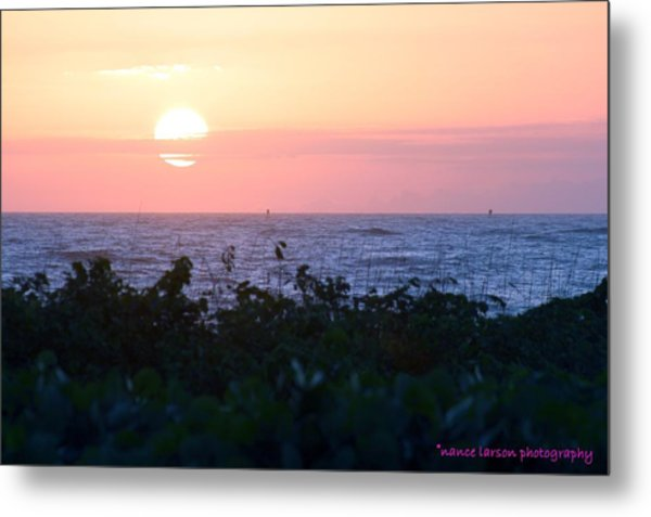 Pastel Sunrise Metal Print