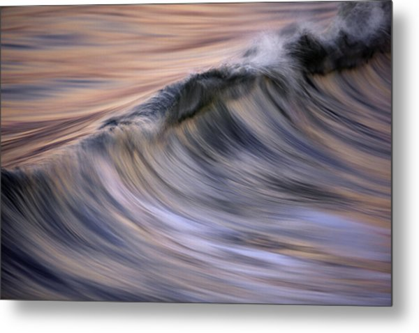 Pastel Wave  Mg2081 Metal Print