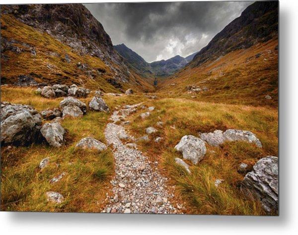 Path In Mountains Metal Print by Garry Solomon / Eyeem