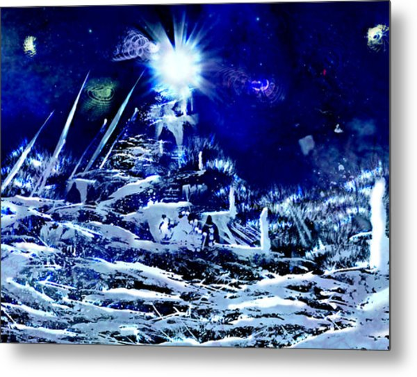 Path To Enlightment Metal Print