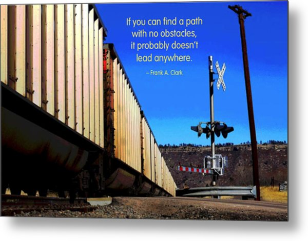 Path With No Obstacles Metal Print by Mike Flynn