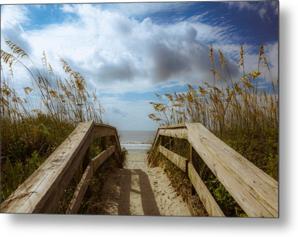 Metal Print featuring the photograph Pathway To Paradise by Francis Trudeau