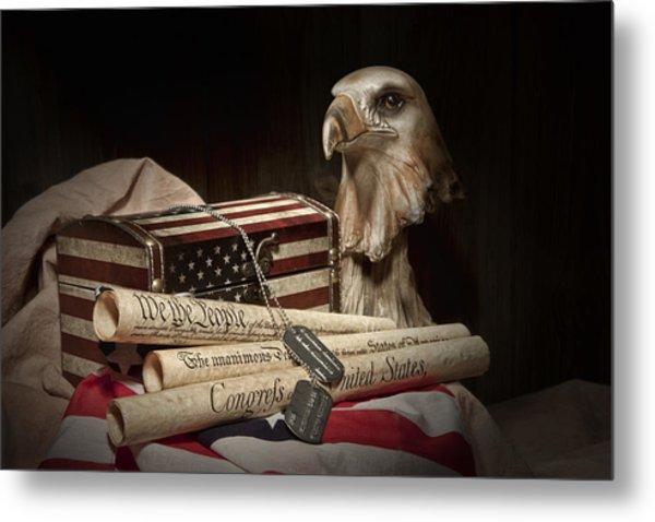 Patriotism Metal Print