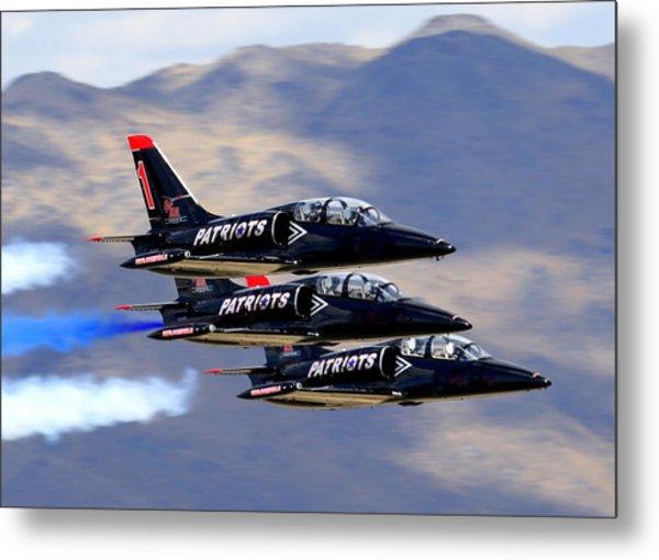 Patriots Perform At Reno Air Races Metal Print