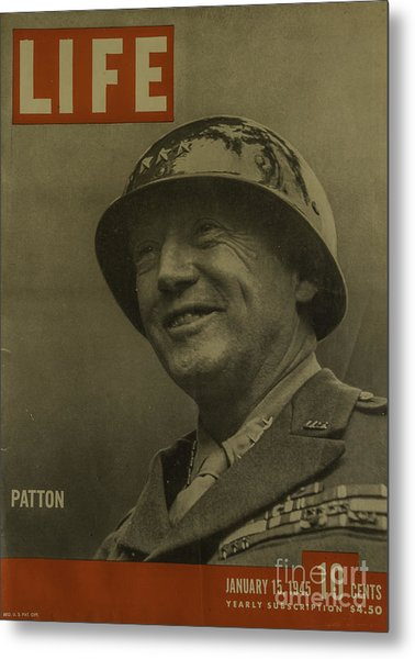Patton Metal Print