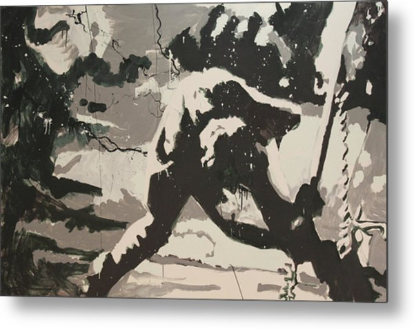 Paul Simonon Of The Clash Metal Print
