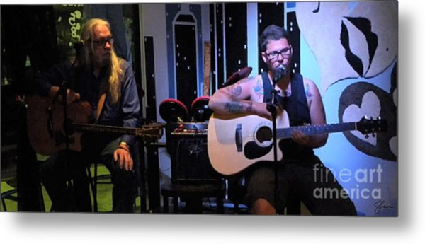 Paul Stephen Wilson And Jj Roetting Duet Metal Print by Shawn Lyte