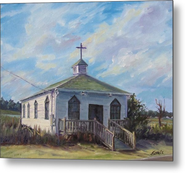 Pawleys Chapel Metal Print
