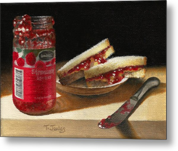 Pb And J 2 Metal Print by Timothy Jones