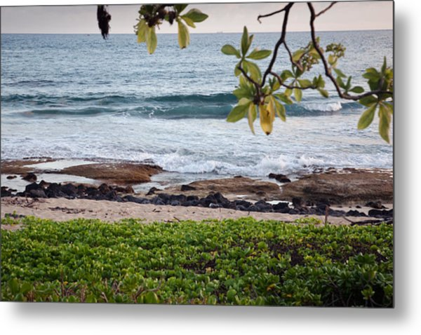 Peace And Harmony At The Beach Metal Print