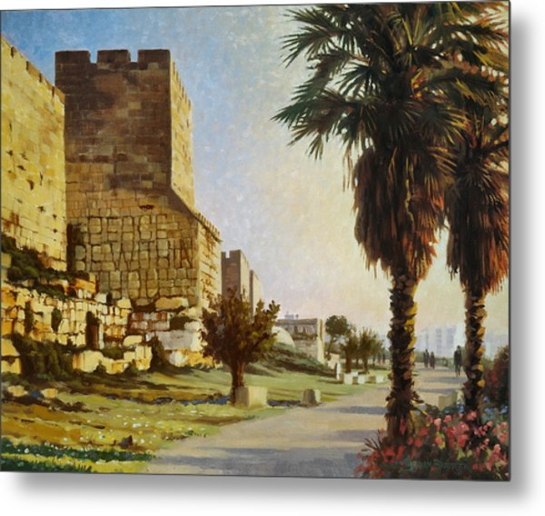 Peace Be Within You  Jerusalem Metal Print