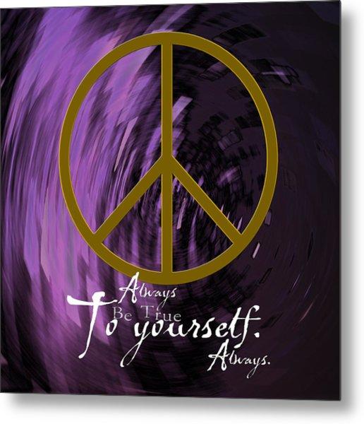 Peace Metal Print by Daryl Macintyre
