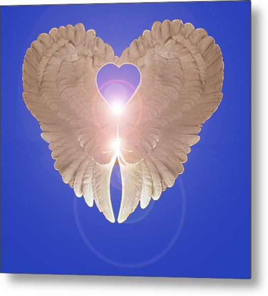 Metal Print featuring the digital art Peace by Eric Kempson
