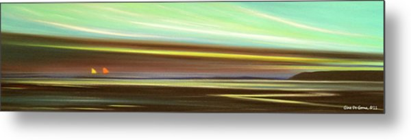 Peace Is Colorful - Panoramic View Metal Print