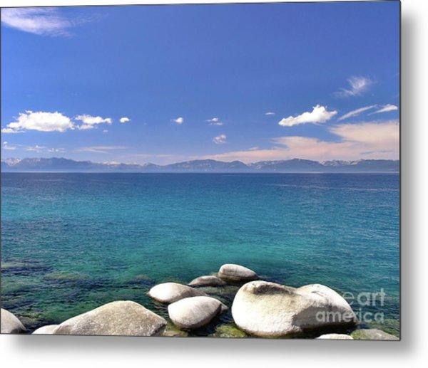 Peace - Lake Tahoe Metal Print