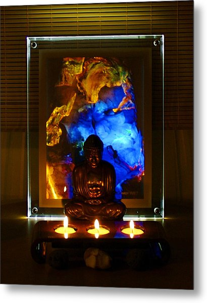 Peace On Earth Metal Print by Colleen Cannon