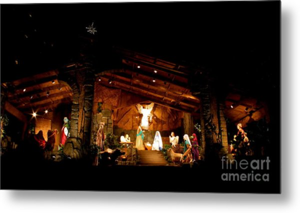 Peace On Earth Metal Print by Jay Nodianos