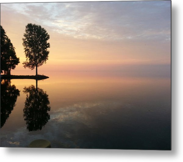 Peace On The Water Metal Print