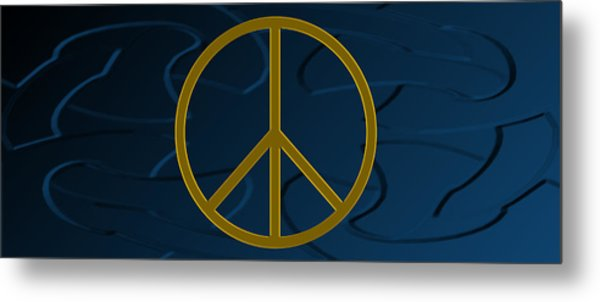 Peace Sign Metal Print by Daryl Macintyre