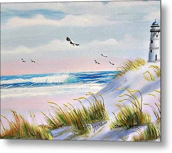 Peaceful Metal Print by Janet Moss