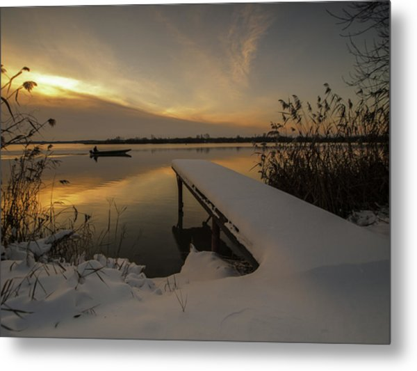 Peaceful Morning  Metal Print