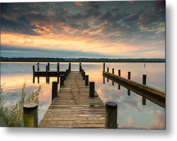 Peaceful Patuxent Metal Print