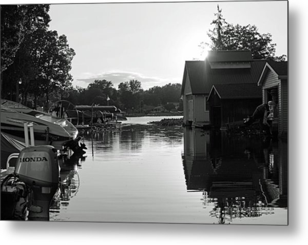 Peaceful Metal Print by Thomas Fouch