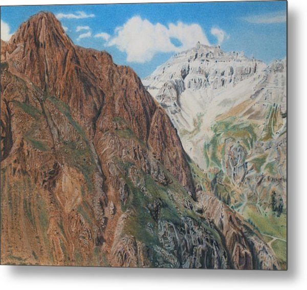 Peaks Of Ouray Metal Print