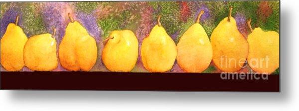 Pears Metal Print by Gwen Nichols