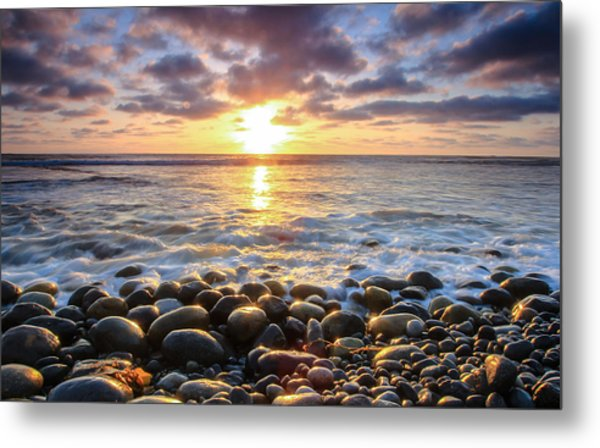 Pebble Beach Metal Print