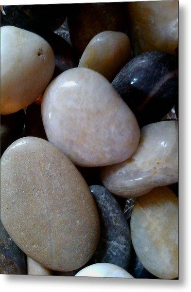 Pebbles Metal Print by Jaime Neo